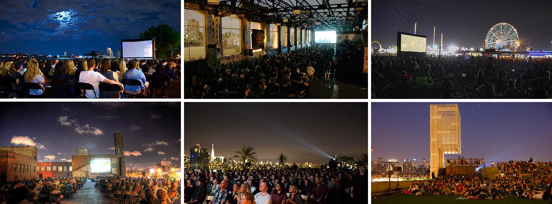 Venues Across Nyc Rooftop Films